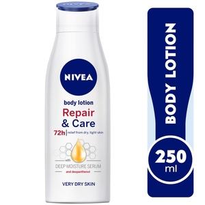 Nivea Repair & Care Body Lotion With Dexpanthenol Very Dry Skin 250ml