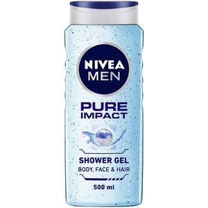 Nivea Men Pure Impact Shower Gel Fresh Scent 250ml