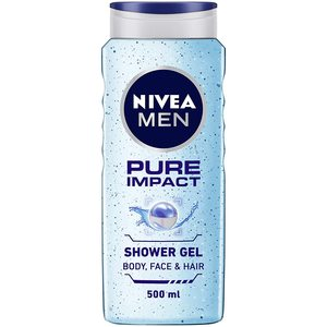 Nivea Men Pure Impact Shower Gel Fresh Scent 500ml