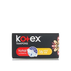 Kotex Tampons Total Confidence Mini 16s