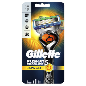Gillette Fusion Proglide Power Men's Razor 1s