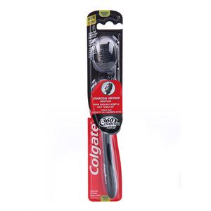 Colgate Toothbrush 360 Black Medium 1s