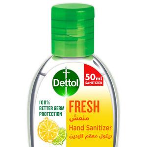 Dettol Instant Hand Sanitizer Spring Fresh Scent 50ml