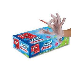 Fun Disposable Vinyl Gloves Medium 100s