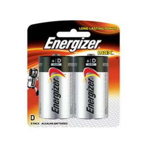 Energizer Max Alkaline D Battery 2s