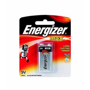 Energizer Max Alkaline 9V Battery 1s
