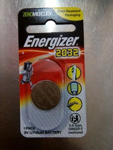 Energizer Ltm 2032 Bstr Pk Battery 1pkt