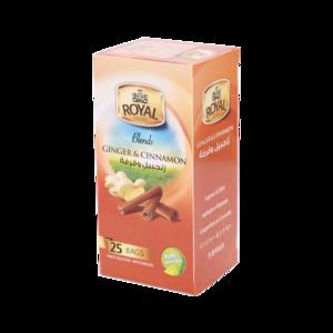 Royal Cinnamon With Ginger Tea 25 x1.5gm