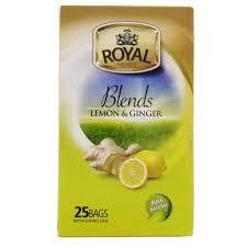 Royal Blends Lemon & Ginger 25s