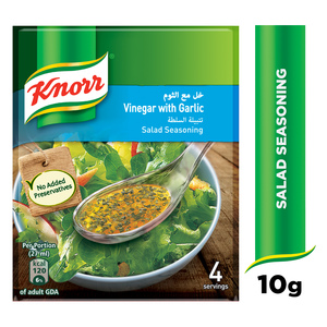 Knorr Salad Dressing Vinegar & Garlic 10g