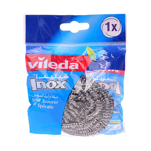 Vileda Scouring Spiral Inox 1pc