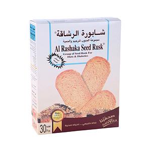 Al Rashaka Rusk Diet & Diabet 420g