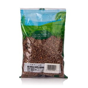 Green Valley Red Whole Lentil 500gm