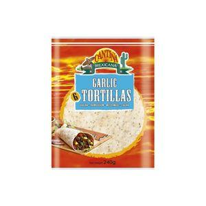 Cantina Mexicana Garlic Tortilla 240g