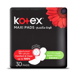 Kotex Maxi Slim Super Wings Non Coco 30s