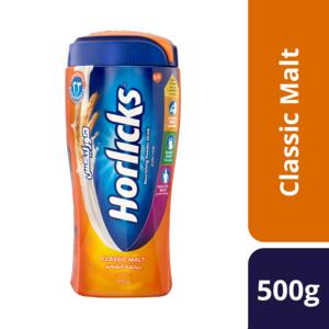 Horlicks Classic Malt Powder Drink 500g