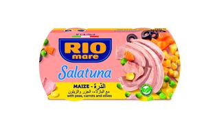 Rio Salatuna Maize Recipe Veg & Tuna 2x160g