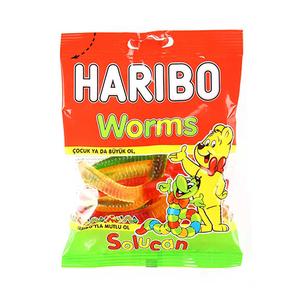 Haribo Worms 80gm