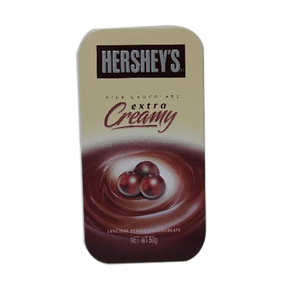 Hersheys Pearl Extra Creamy Tin 50gm