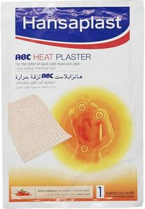 Hansaplast Bandage Heat Plaster Abc 11mg