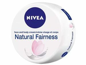 Nivea Natural Fairness Body Cream Liquorice & Berry All Skin Types Jar 200ml