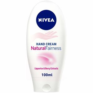Nivea Natural Fairness Hand Cream Liquorice and Berry Extracts 100ml