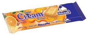 Deemah Orange Cream Biscuit 75 gm