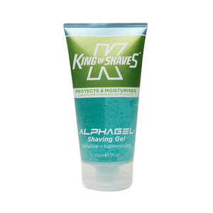 King Of Shaves Alpha Gel Shaving Gel Sensitive Super Cooling 150ml