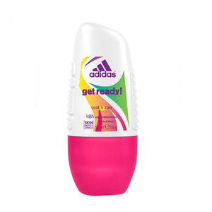 Adidas Get Ready! Deo Rollon For Women 50ml