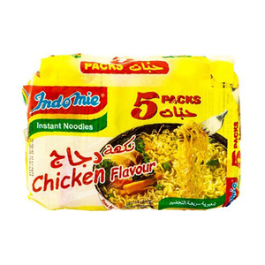 Indomie Noodles Chicken 5x70gm