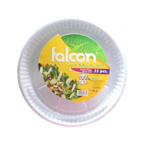 Falcon Plastic Plates 25pc