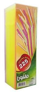 Plastic Straw Fluorescent 225s