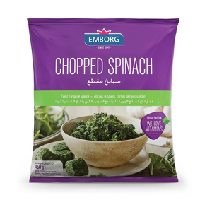 Emborg Fozen Vegetable Spinach Chopped 450g