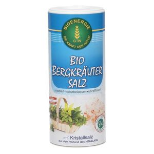Bioenergie Organic Himalaya Mountain Herbs Salt 170g