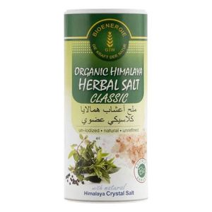 Bioenergie Organic Classic Himalaya Herbal Salt 170g