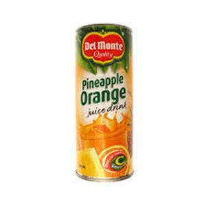 Del Monte Pineapple Orange 240ml