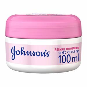 Johnson's Body Cream 24 HOUR Moisture Soft 100ml