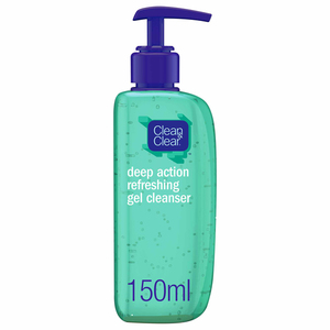 Clean & Clear Face Cleanser Deep Action Gel Refreshing 150ml