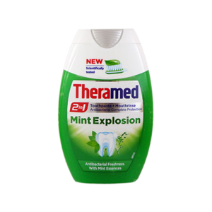 Theramed 2 In1 Mint Explosion Toothpaste And Mouthrinse 75ml