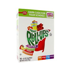 Betty Crocker Fruit Roll-Ups Variety Pack 11g