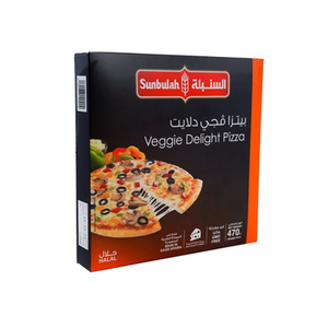Sunbulah Veggie Delight Pizza 470g