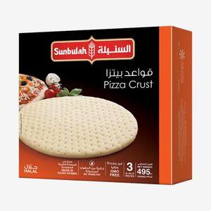 Sunbulah Medium Pizza Crust 3x165g