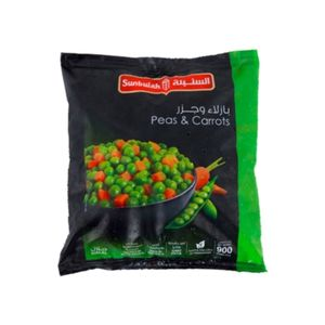 Sunbulah Peas & Carrots 900g