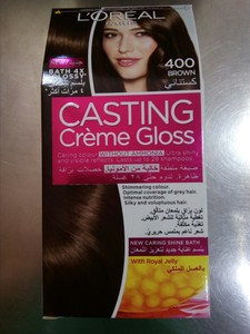 L'Oreal Paris Casting Creme Gloss 400 Brown 1set