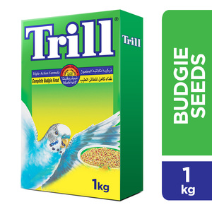 Trill Budgie Bird Food 1kg
