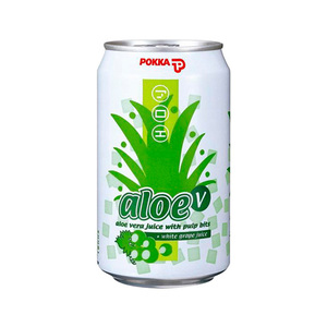 Pokka Aloe Vera Grape Juice 300ml