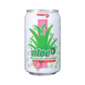 Pokka Aloe Vera Peach Juice 300ml