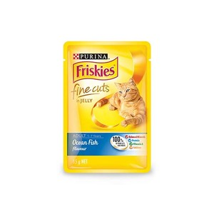 Purina Friskies Ocean Fish Flavour In Jelly Wet Cat Food 85g