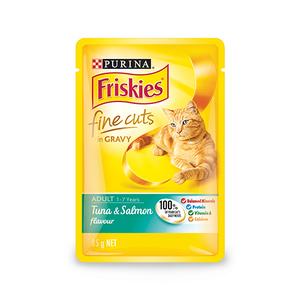 Purina Friskies Tuna & Salmon Flavour In Jelly Wet Cat Food 85g