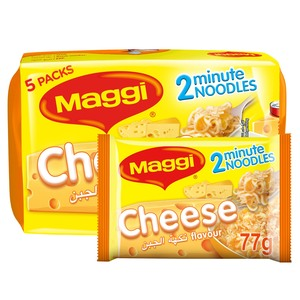 Maggi 2  Minutes Noodles Cheese 5x77g